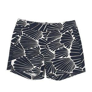 J. Crew Blue Patterned Shorts